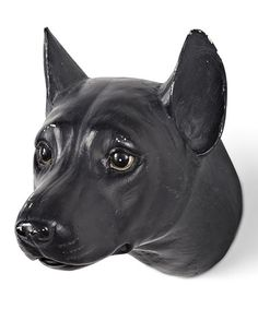 Look what I found on Black Antique Dog Head Wall Décor I Love Dogs, Decoration, Panther, Wall Decor, Antiques, Pallets, Animals, Gift Ideas, Black