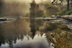 Ruby Beach, Forks area, Trail head, Washington State by Don Briggs, via Flickr