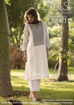 #linen #kurta #springsummer #cambric #pants #tulsionline