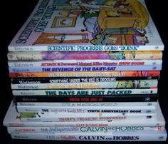 The Calvin and Hobbes collection!