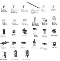 Fasteners - Power Engineering Powerstruts Unistruts Safety Gratings General Engineering, Power Engineering, Small Parts Storage, Information Board, Garage Organisation, Screws And Bolts, Hobbies For Men, Tools Hardware, Diy Shed