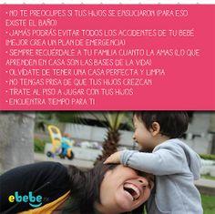 ¡¡Aquí les dejo 7 hábitos que no debes de olvidar para que siempre seas una mamá feliz!! #bebé #hijos #familia #felicidad #tips