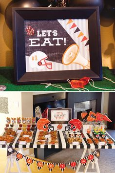 Superbowl Game time party free printables...these are awesome, will definitely use!
