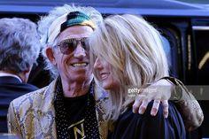 Keith Richards & Patti Hansen by Isaiah Trickey.