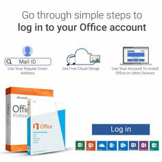 Once you have registered with the Microsoft Office account you have to sign in to your account. This will help you in enjoying various Microsoft features and premium services.