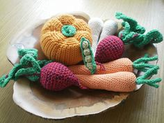 Ravelry: Harvest Vegetables pattern by Angela Turner