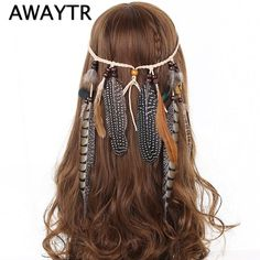 Find More Hair Accessories Information about Feather Headband Women 2017 Festival Feather Headband Hippie Headdress Hair Accessories Boho Peacock Feather Headdress,High Quality headdress flower,China headband sparkle Suppliers, Cheap headbands china from AWAYTR K&Q Store on Aliexpress.com