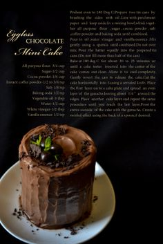 CHOCOLATE MINI CAKE | TIN CAN CAKE | EGGLESS CHOCOLATE CAKE