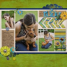 Ideas for Adding Crafty Handmade Touches to Your Scrapbook Layouts | Stefanie Semple | Get It Scrapped