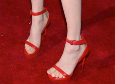 Amanda Seyfried's Givenchy sandals at the New York premiere of 'While We're Young'