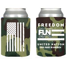 Sports Mem, Cards & Fan Shop 100% True Mobil 1 America American Flag Kaddy Koozie Can Holder
