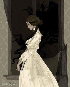 Mina Harker by AbigailLarson