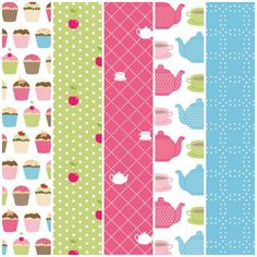 Teatime treats free digital papers – download them from the Papercraft Inspirations website!