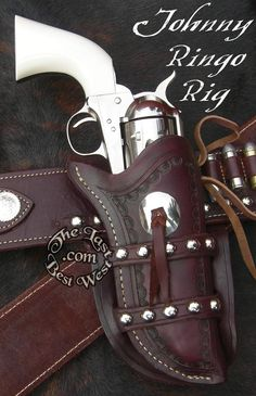 Custom Gun Leather from The Last Best West