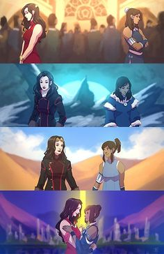 So I thought about how they found out Aang was the Avatar by presenting him with a set of toys when he was very young and he chose the one that belonged to his previous lives… Korra's t. Avatar Aang, Team Avatar, Avatar Cartoon, Avatar Funny, The Last Avatar, Avatar The Last Airbender Art, Legend Of Aang, Legend Of Korra Ending, Asami Sato