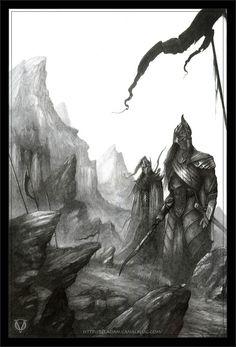 Fingon and Maedhros by Olivier-Villoingt.deviantart.com on @deviantART
