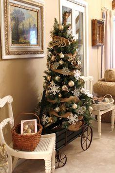 Common Ground: Christmas Home Tour - Silver Creamer Tree