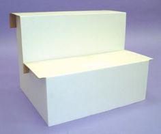 Cardboard Risers - Large 2 Step