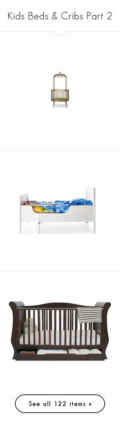 """""""Kids Beds & Cribs Part 2"""" by libbylu116-1 ❤ liked on Polyvore featuring home, children's room, children's bedding, baby bedding, children's furniture, baby, baby bedding & décor, bedding sets, baby stuff and furniture"""