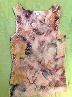New Coldwater Creek Watercolor Floral Top Imported Fabric  Size S Made in USA $11.99  eBay