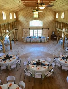 The Barn At Tall Oaks, Hendersonville, NC as some seriously high ceilings! Barn, High Ceilings, Building, Wedding Ideas, Home Decor, Tall Ceilings, Converted Barn, Decoration Home, Room Decor