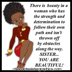 Chocolate Sister Graphics African American Profile Graphics