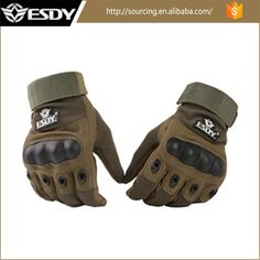 Hot Hunting Cycling Bike Gloves Outdoor Sports Full Finger Airsoft Military Tactical Gloves #airsoft_gloves, #Hunting
