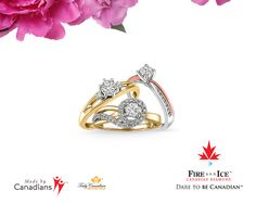 Valentines Day is two days away, still looking for the perfect gift? We have what you are looking for!    This stunning collection of Fire & Ice Canadian Diamonds are mined, cut, and polished in Canada and set in Canadian Certified Gold.  http://www.bocianjewellers.ca/