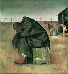 Felix Nussbaum (11 December 1904 – 2 August 1944) was a German-Jewish surrealist painter. Nussbaum's artwork gives a rare glimpse into the essence of one individual among the victims of the Holocaust.