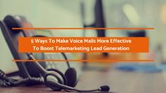 Maximizing telemarketing lead generation has become very challenging in today's business scenario where the decision makers are extremely busy.