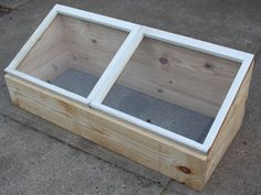 Build And Use Your Own Cold Frame To Grow Veggies Now - On The Cheap!