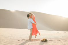 Our engagement photo session in Glamis, CA with Tugether Photo