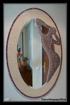 miroir mosaique