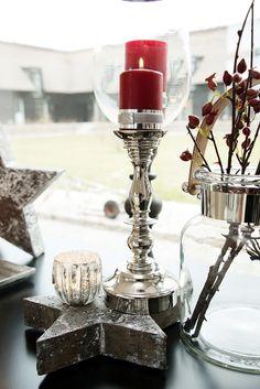 #LeneBjerre #CHRISTMAS2013   VILHELMINA #star, CAVENDISH #candlestick and BASIC #candle.