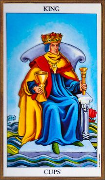When you need a force of calm in the midst of a storm, the Tarot has a card for you. Coming with love, warmth, and intuition is the #KingofCups who will be making an appearance in your #dailyTarot reading when the need to dissipate the drama is peaking in your daily activities.