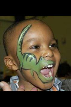 t-rex--coolest face painting!