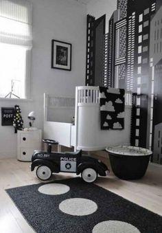 Nice Muster Schwarz Wei lassen Sie eine Wandgestaltung mit Farbe vergessen wandgestaltung schwarz wei kinderzimmer einrichten