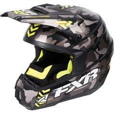 8f551b243 FXR Racing Torque Core MX Mens Off Road Dirt Bike Motocross Helmets  Snowmobile Helmets, Motocross