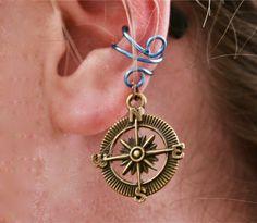 Compass Rose - Ear Cuff