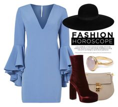 """""""Sep 28th (tfp) 2278"""" by boxthoughts ❤ liked on Polyvore featuring Milly, Chloé, Miu Miu, Maison Michel, Bohemia and tfp"""