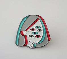 Perspective Soft Enamel Pin