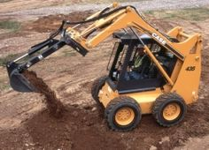 CASE - MAQUINARIA PARA CONSTRUCCION  CARGADORAS COMPACTAS  Modelo 435