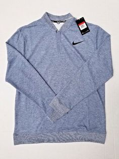 d5c071aa9ad7 Nike Tiger Woods TW Dry Longsleeve Sweater Mens Golf Polo New 854213-454  Size L