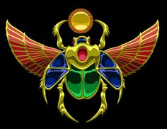 Jewelled Scarab by Kezef on deviantART