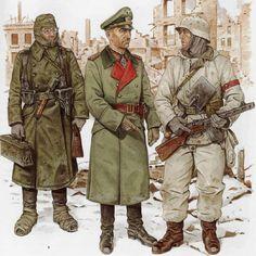 Tyske soldater i Stalingrad