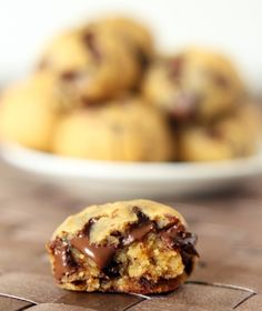 Texanerin Baking: Grain-free Peanut Butter Chocolate Chip Cookie Dough Bites