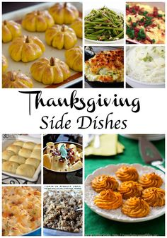 Thanksgiving side dishes! Who is ready for some yummy Thanksgiving recipes?