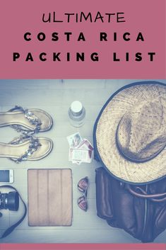 Ultimate Costa Rica Packing List. If your traveling to Costa Rica this is a must read. asoutherntraveler.com