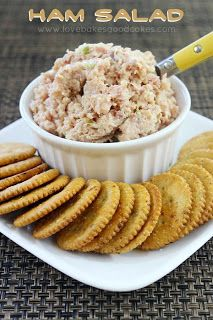 Ham Salad ~ Last Minute Appetizers Round up for New Years Eve