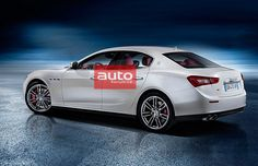 Maserati Ghibli 2013 (leaked photos). absolutely stunning